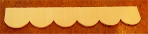 Tile Strips - Pack of 12 - Wood