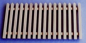 Fence - Wooden Picket Fencing