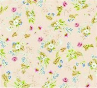 Wallpaper Roccoco Silk, Pink background