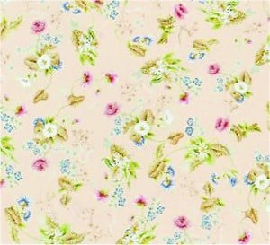 Roccoco Silk, Pink background