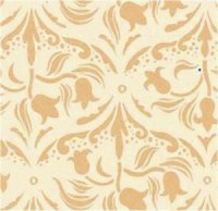 Wallpaper Tulip Arabesque, Ivory