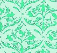 Wallpaper Tulip Arabesque, Turquoise