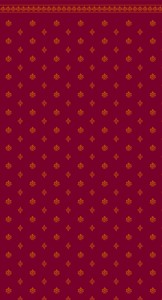 Wallpaper Garden Crest- Burgundy