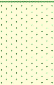 Wallpaper FluerDeLys- Green