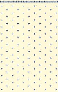 FluerDeLys- Blue