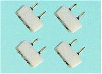 Tap In Plug, Double Wire, Pack of 4