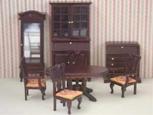 24th Scale - Dining  Room Set