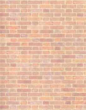 Old Red Brick Wallpaper - 24th Scale