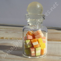 Sweet Jar - Pastel Square candy sweets