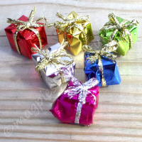 Set of 6 Christmas presents 1cm (Small)