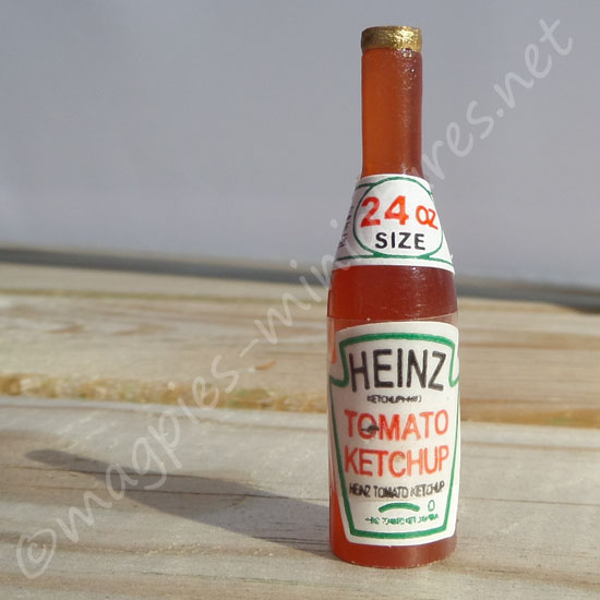 Ketchup Bottle - tomato sauce