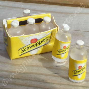 Crate of Tonic (or lemonade) bottles