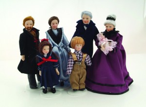 Victorian Family - 7 Piece