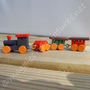 Toy Train Wooden