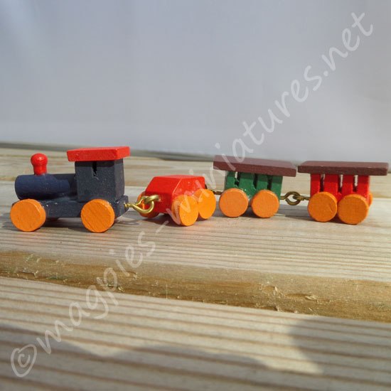 Toy Train Wooden