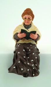 lady - Grandmother Sitting