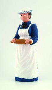 Lady - Cook with Rolling Pin