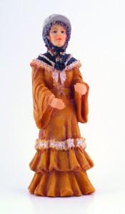 Lady -  Bonnet and Shawl
