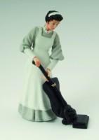 Lady - Maid Vacuuming