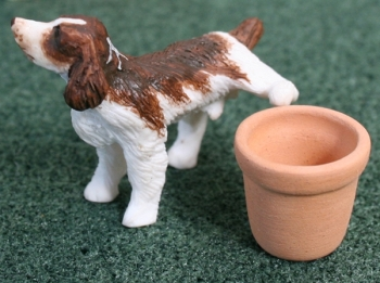 Brown Springer Spaniel - Naughty Dog 1:24 scale 24th