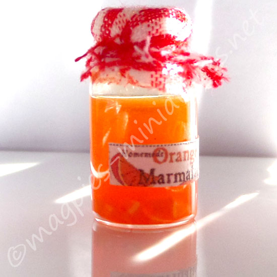 Jar of Orange Marmalade