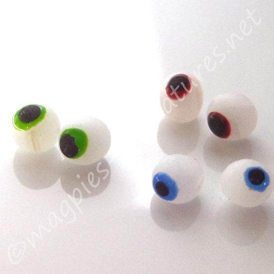 3 pairs of Eyeballs