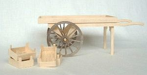 Hand Cart Kit - 12th Scale
