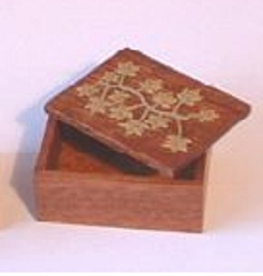 Decorated Just a Box KIT - Brass Inserts