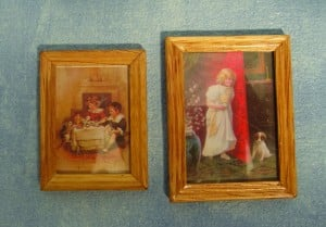 Picture - Pair of Wood Framed