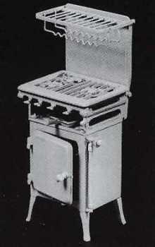 """1940's Metro """"Speedway"""" Gas Cooker Kit"""