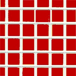 Wall Tile Red