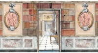 Wallpaper Library - Door Books Wall Plaque
