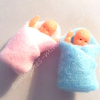 Baby Dolls (Packet of 2)