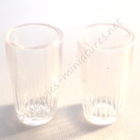 Pack of 2 Plastic Tumblers