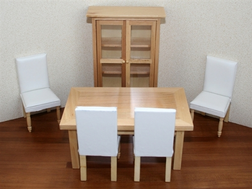 Modern cream dining set