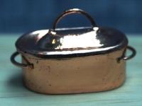 Copper roasting Pot