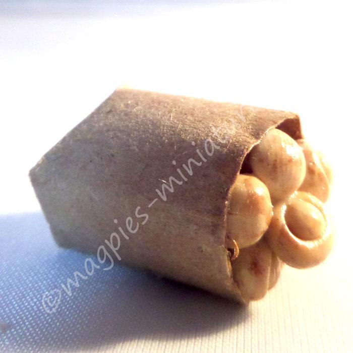 Brown Paper Bag Groceries - Mushrooms