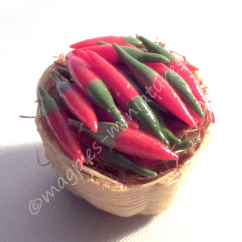 Fruit and Vegetable baskets - chillis