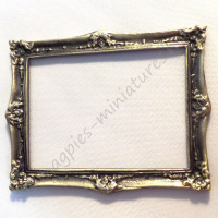 Medium Antique Finish Frame