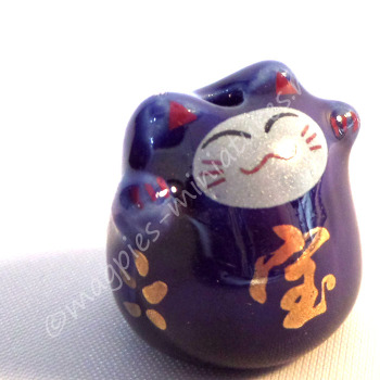 Lucky Cat ornament. 4 colours to choose from