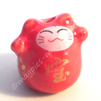 d2251a lucky cat red