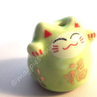 d2251c lucky cat green