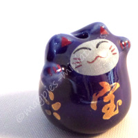 d2251d lucky cat blue