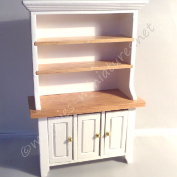 White and Pine Kitchen Dining dresser