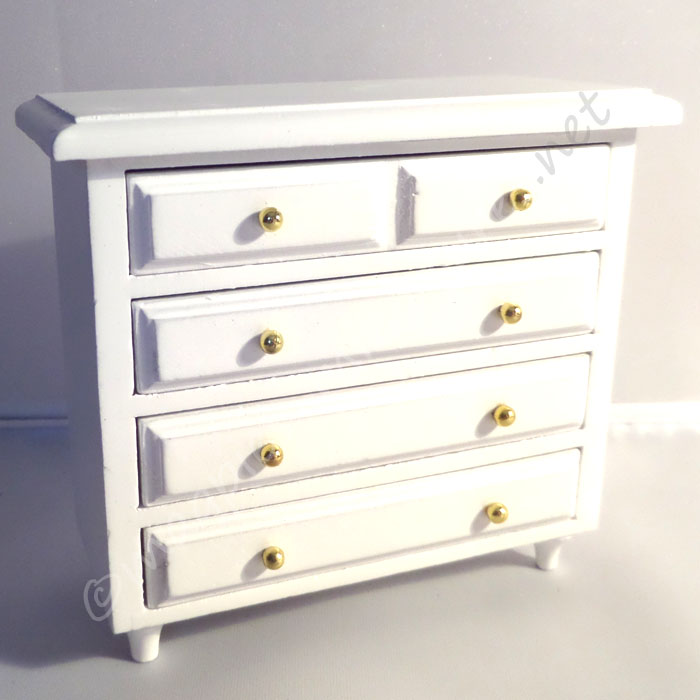 Chest of drawers - white