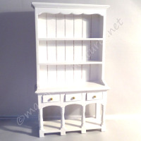 3 drawer dresser - white