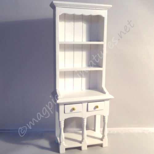 2 drawer dresser - white