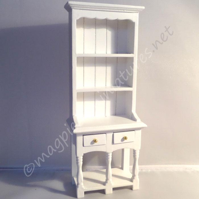 2 drawer dresser - white