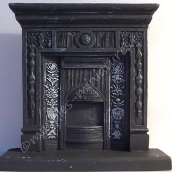 """Cast Iron"" fireplace"