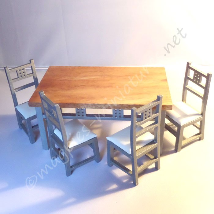 Modern Dining table and chairs set